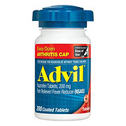 Advil Tabs 200 Mg Easy Open Tablets, 200 CT