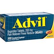 Advil Temporary Pain Relief Ibuprofen Coated Caplets