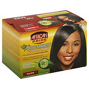African Pride Olive Miracle No Lye Conditioning Anti-Breakage Super Relaxer