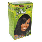 African Pride Olive Miracle No Lye Relaxer Regular