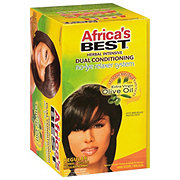 Africas Best No-Lye Dual Conditioning Regular Relaxer System