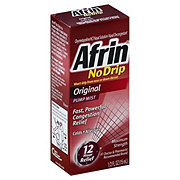 Afrin No Drip Original Maximum Strength Pump Mist