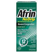 Afrin No Drip Severe Congestion Pump Mist