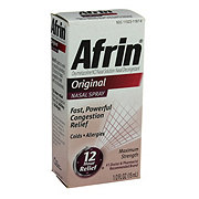 Afrin Original Nasal Spray, Maximum Strength