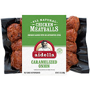 Aidells Caramelized Onion Chicken Meatballs