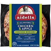 Aidells Chicken and Apple Chicken Burgers