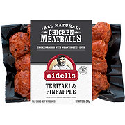 Aidells Chicken Meatballs, Teriyaki & Pineapple