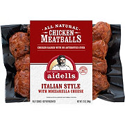 Aidells Italian Style Chicken Meatballs with Mozzarella Cheese