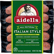Aidells Italian Style Smoked Chicken Sausage with Mozzarella Cheese
