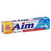 Aim Multi-Benefit Gel Toothpaste, Ultra Mint