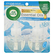 Air Wick Cool Linen & White Lilac Scented Oil Refills