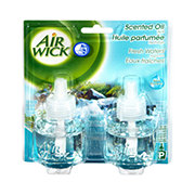 Air Wick Essential Oils Scented Oil Refill Fresh Water Twin Pack