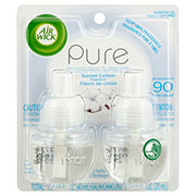 Air Wick Pure Sunset Cotton Scented Oil Refills
