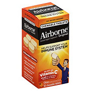 Airborne Blast Of Vitamin C Chewable Tablets Citrus