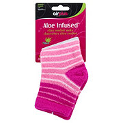 Airplus Ultra Moisturizing Aloe Infused Women's Socks - Colors May Vary