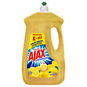 Ajax Ultra Super Degreaser Lemon Scent Dish Soap