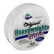 AJM Original Heavyweights Ultra White Plates