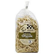 Al Dente Garlic Parsley Fettuccine Noodles