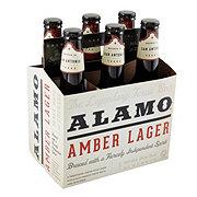 Alamo Beer Company Amber Lager  Beer 12 oz  Bottles