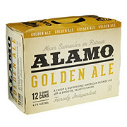 Alamo Beer Company Golden Ale Beer 12 oz Cans