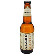 Alamo Beer Company Golden Ale Beer Bottle