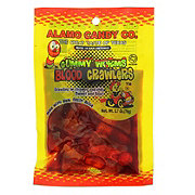 Alamo Candy Gummy Worms Blood Crawlers