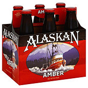 Alaskan Amber Alt Style  Beer 12 oz  Bottles