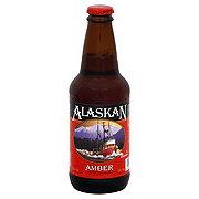 Alaskan Amber Alt Style Beer Bottle