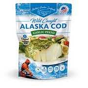 Alaskan Leader Garlic Pesto Cod Portions