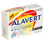 Alavert 12 Hour Allergy & Sinus Loratadine 5 mg/Pseudoephedrine Sulfate 120 mg Extended Release Tablets
