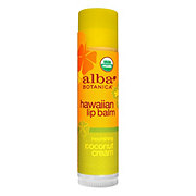 Alba Botanica Hawaiian Coconut Cream Lip Balm