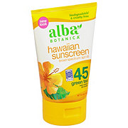 Alba Botanica Hawaiian Green Tea SPF 30+ Sunscreen