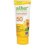 Alba Botanica Hawaiian Green Tea SPF 45 Sunscreen