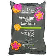 Alba Botanica Hawaiin Detox Towelettes Volcanic Clay