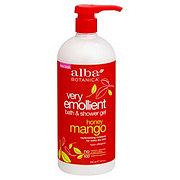 Alba Botanica Honey Mango Very Emollient Bath and Shower Gel