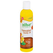 Alba Botanica Organics Hawaiian Kukui Nut Organic Body Oil