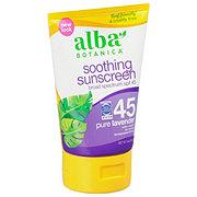 Alba Botanica Sun Organic Lavender SPF 30 Sunscreen