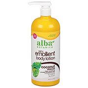 Alba Botanica Very Emollient Body Lotion, Coconut Rescue