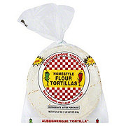 Albuquerque Tortilla Homestyle Flour Tortillas
