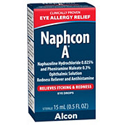 Alcon Naphcon A Eye Allergy Relief Eye Drops