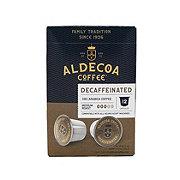 Aldecoa Decaf Medium Roast Single Serve Coffee K Cups