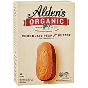 Alden's Organic Chocolate Peanut Butter Ice Cream Bars