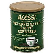 Alessi Decaffeinated Caffe' Espresso Coffee