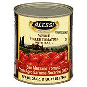 Alessi Whole Peeled San Marzano Tomatoes with Basil