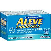 Aleve 220 mg  Naproxen Sodium Liquid Gels