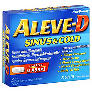 Aleve D Sinus and Cold Naproxen