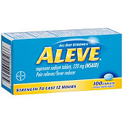 Aleve Pain Reliever/Fever Reducer Naproxen 220 mg Caplets