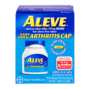 Aleve Pain Reliever/Fever Reducer Naproxen 220 mg Gelcaps (Easy Open Arthritis Cap)