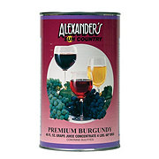 Alexander's Premium Burgundy Grape Juice Concentrate