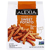 Alexia Crinkle Cut Sweet Potato Fries with Sea Salt and Pepper